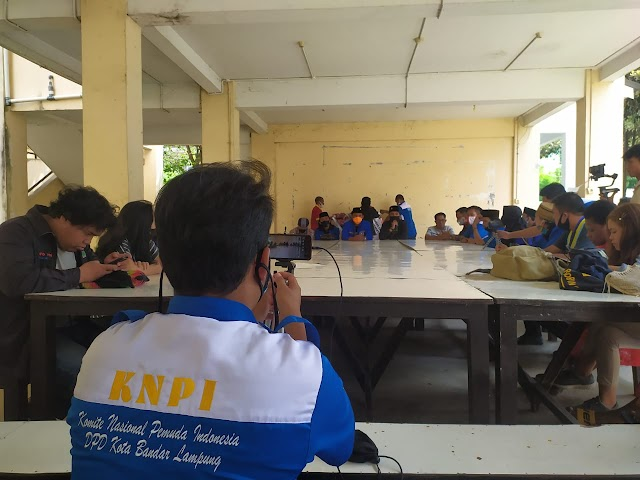 HUT KNPI ke-47, DPD KNPI Kota Bandar Lampung silaturahmi ke IKMAPAL tegaskan Kebhinekaan