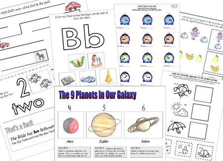 The Catholic Toolbox Free Kindergarten Worksheets