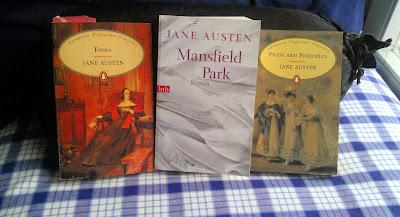 Mansfield Park, Emma, Stolz und Vorurteil, Jane Austen