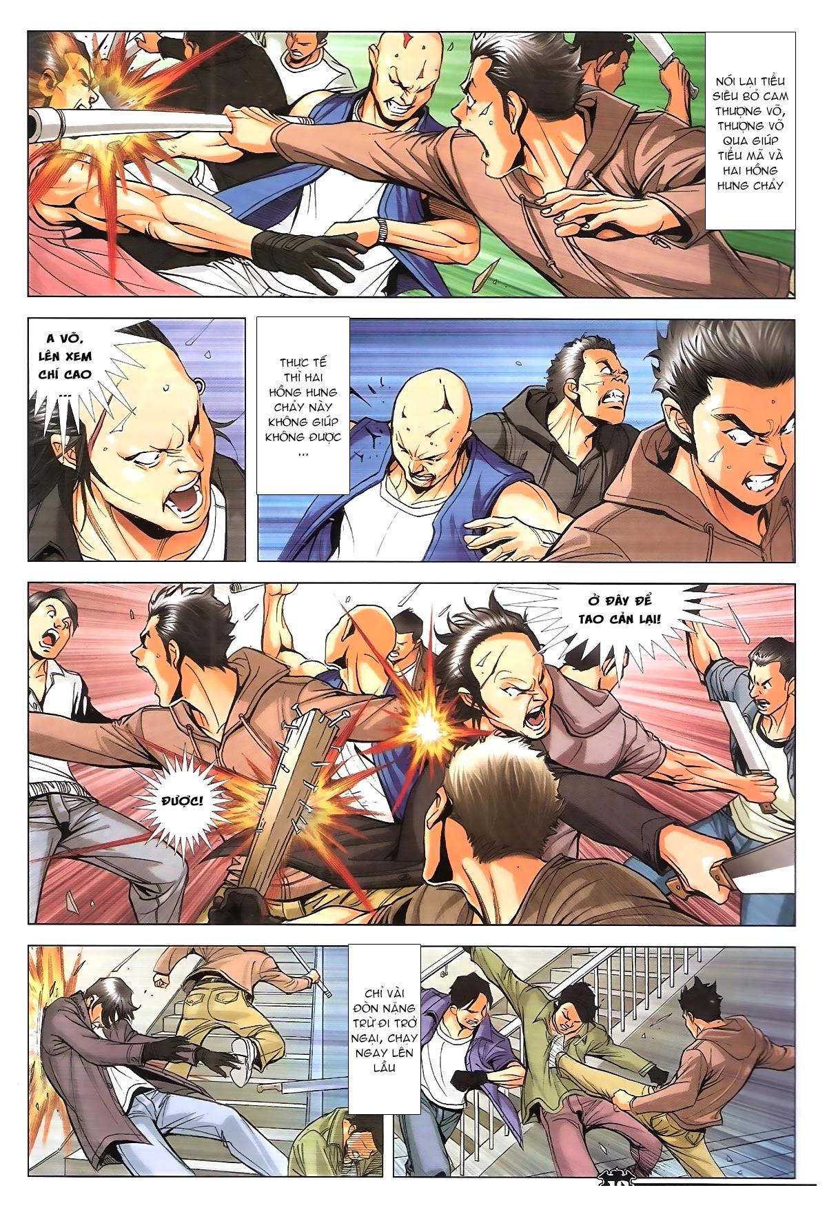 Người Trong Giang Hồ chapter 1787: hỏa thiêu trần hạo nam trang 16