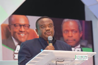 Okoroji Predicts Bumper Year for the Nigerian Entertainment Industry @cosonng