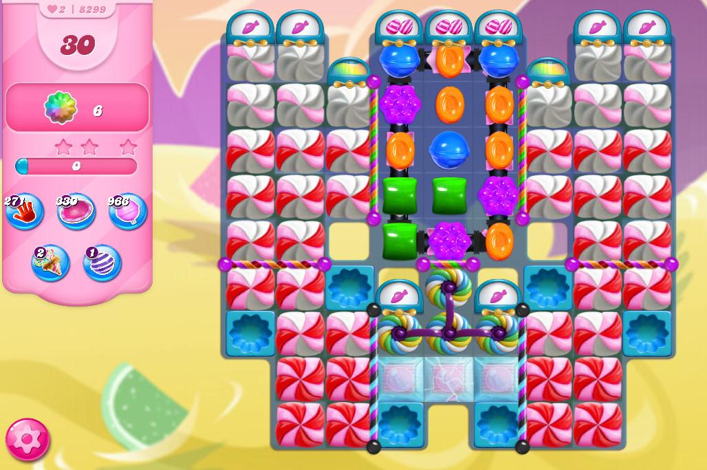 Candy Crush Saga level 8299
