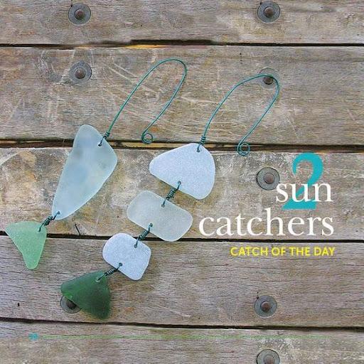 Sea Glass Sun Catchers