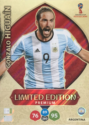 d713861b0 Panini - Adrenalyn XL FIFA World Cup 2018 Russia (08) - Limited Edition  Illustrated Checklist