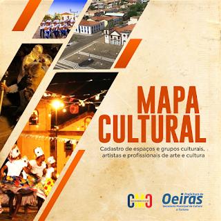 Lei Aldir Blanc: Oeiras inicia mapeamento e cadastro de espaços e agentes culturais