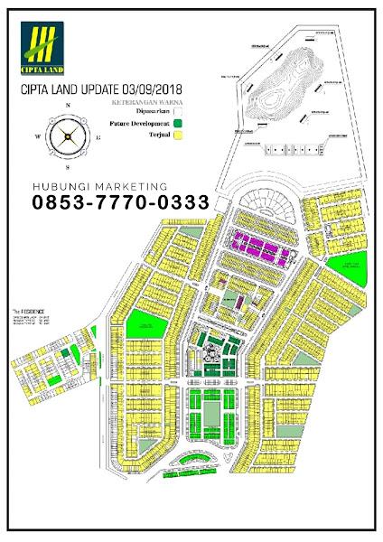 Site Plan Cipta Land