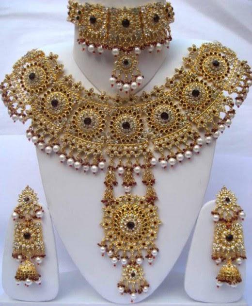 Pakistani Bridal Jewellery Set Picture - 4