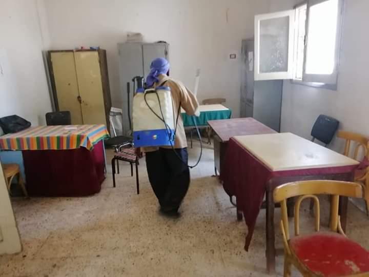 """جهود متواصلة للحد من انتشار وباء"""" كورونا """"بنطاق صفط العنب"""