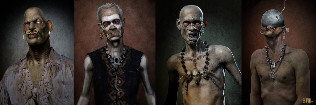 Caribbean Voodoo: Scott Patton Design: PIRATES 4 Yo Ho Ho Ho...Hey, Those