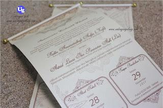 undangan pernikahan jasmin manik