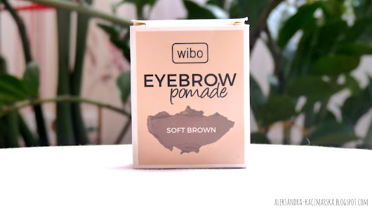 Aleksandra Kaczmarska: Pomada do brwi WIBO soft brown