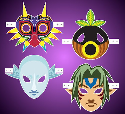 Majora's Mask Printables