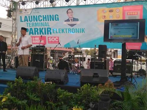 Launching Terminal Parkir Elektronik Bandung