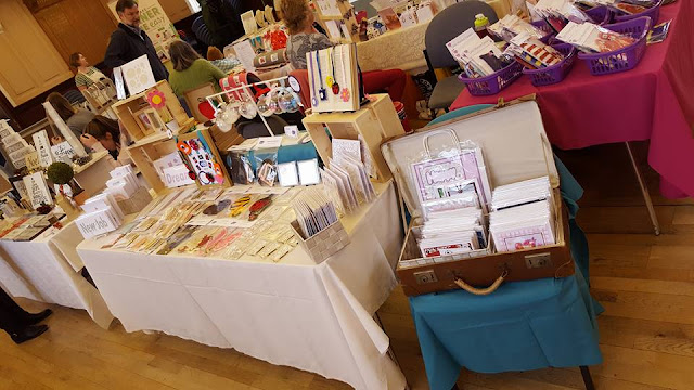 Stall Set Up and Ready to Sell