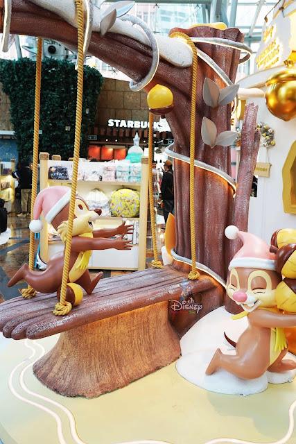 Disney CHRISTMAS IN THE WOODS Langham Place 迪士尼聖誕森林