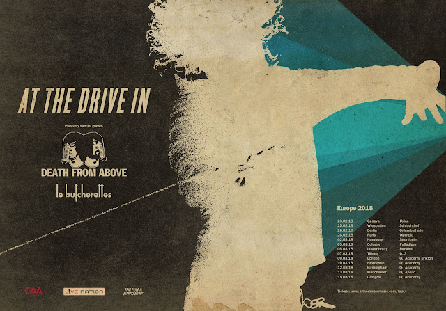 At The Drive In Death From Above Tour Live 2018