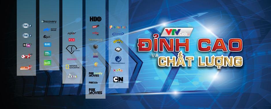 Truyền hình số HD gói chất và đỉnh tại VTVcab Đồng Nai