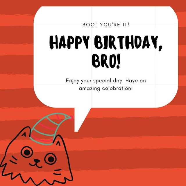 Happy Birthday Images for Brother with quotes