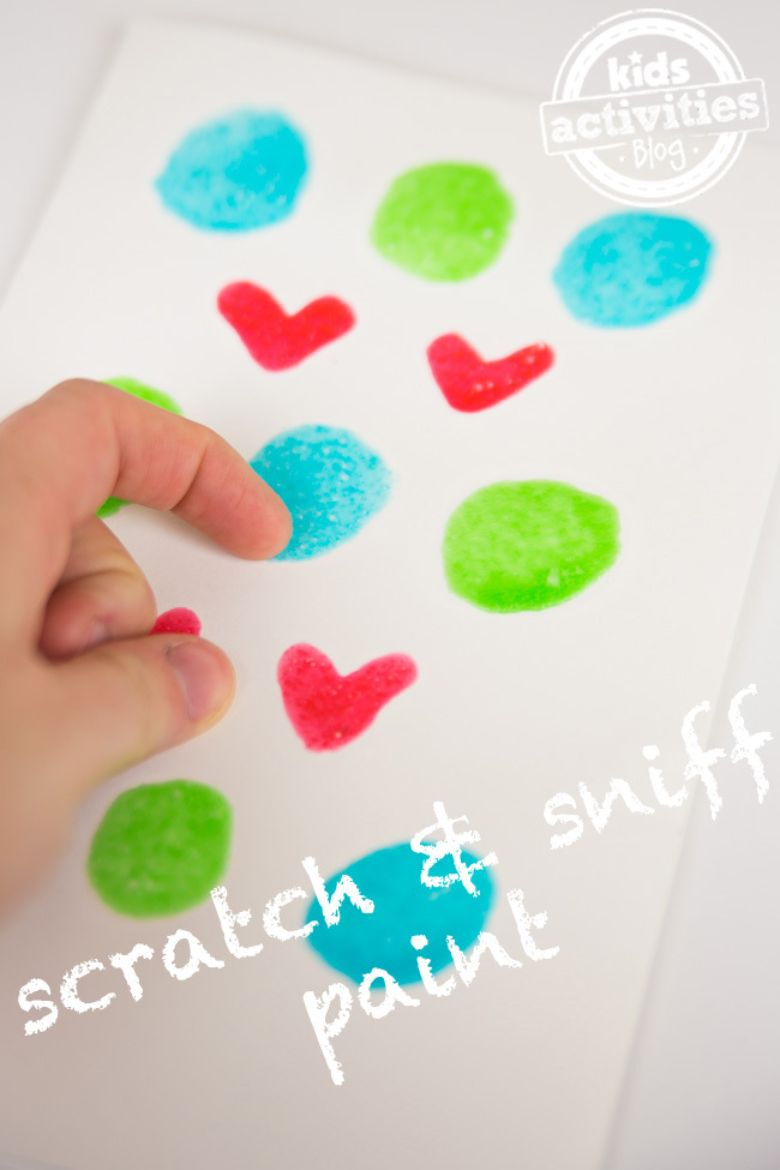 homemade scratch and sniff paint recipe for kids