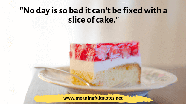 birthday cake quotes and sayings