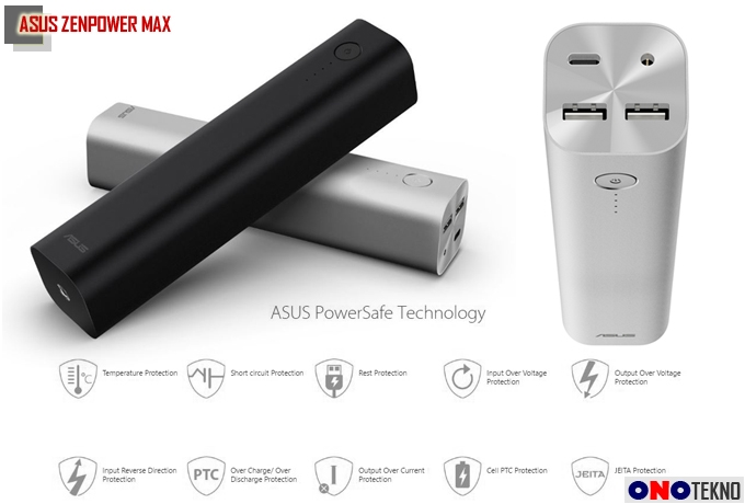 """Asus ZenPower Max """" Berkapasitas Besar & Bisa Buat Isi Laptop """""""