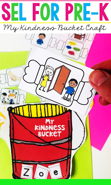 Help children understand the meaning of kindness by completing this super cute DIY Kindness Bucket Filler Game Craft where they will be encouraged to practice kindness acts throughout the month of December or any month.