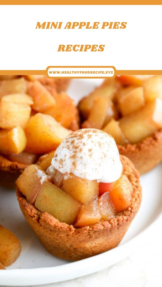 MINI APPLE PIES RECIPES
