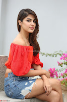 Rhea Chakraborty in Red Crop Top and Denim Shorts Spicy Pics ~  Exclusive 335.JPG