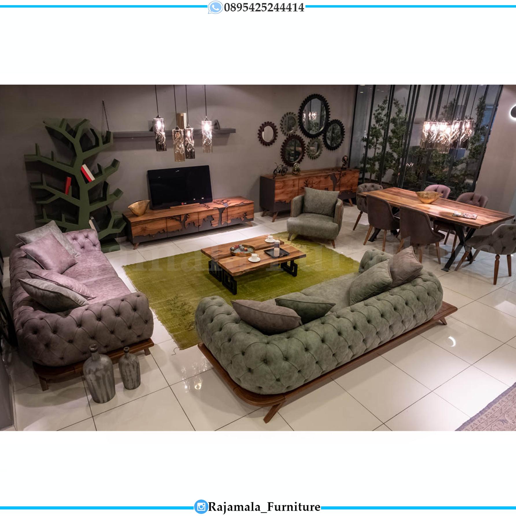 Set Sofa Tamu Minimalis Terbaru Elegant Design Furniture Jepara RM-0148