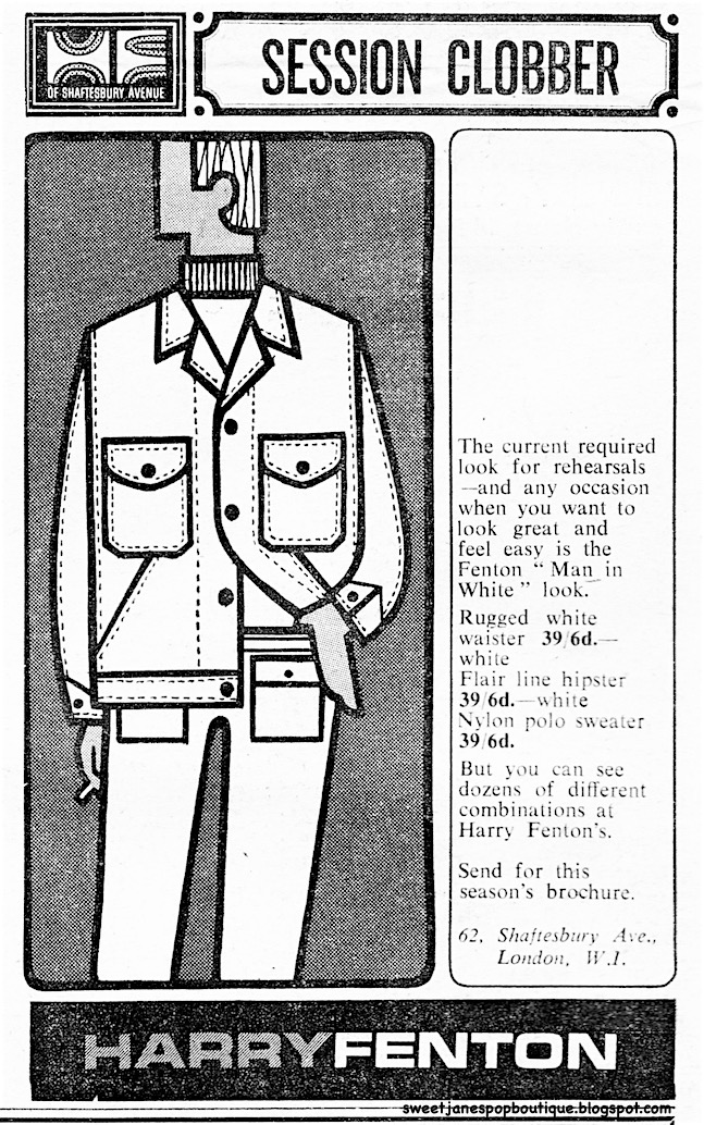 1960s Mod Fashion Menswear print-advert