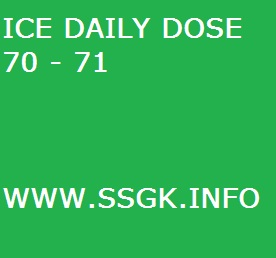 ICE DAILY DOSE 70 - 71