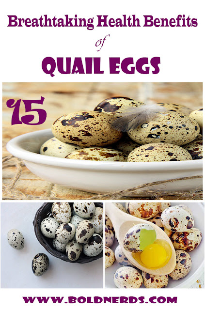 Breathtaking benefits of quail eggs