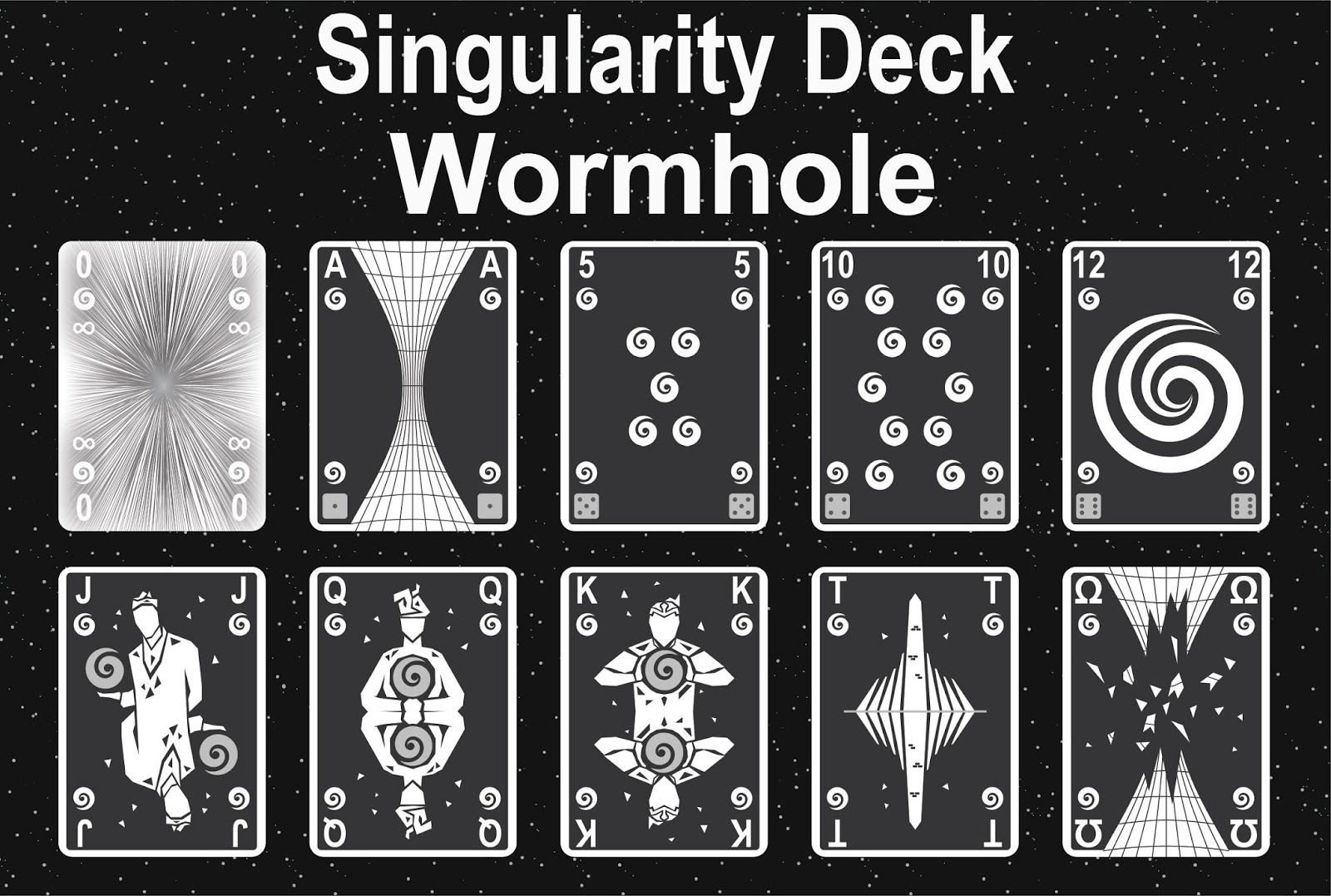 The Singularity Deck - Hearts Art
