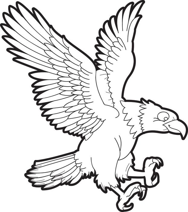 500 Gambar Burung Garuda Di Buku Gambar HD Terbaik