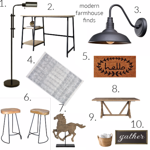 modern farmhouse finds