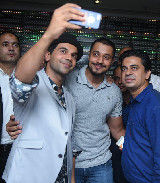 Actor Rajkummar Rao at SMAAASH Cyberhub Gurgaon