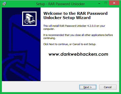 RAR Password Unlocker 2017 cracked version ~ DARKWEB HACKERS