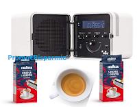 Logo Lavazza Concorso Buongiorno 2020: vinci ogni ora una Radio-Cubo Brionvega
