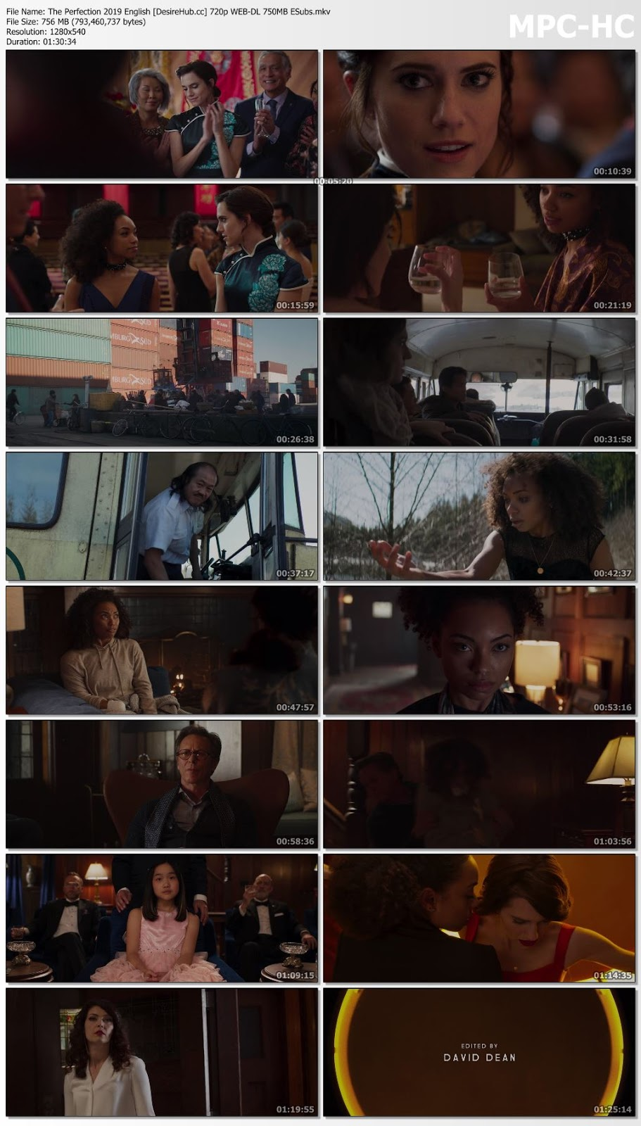 The Perfection 2019 English 720p WEB-DL ESubs 750MB Desirehub