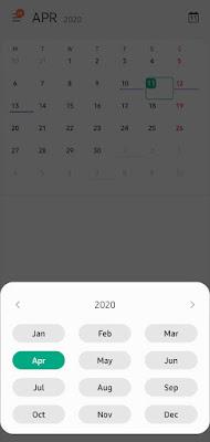 kalender one ui 2