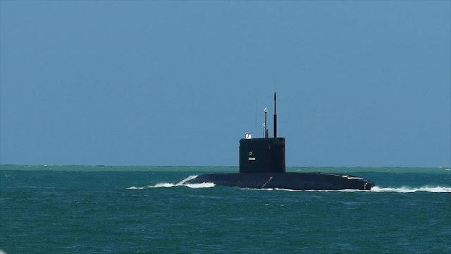 Submarino ruso se dirige al Mediterráneo ante tensiones con EEUU