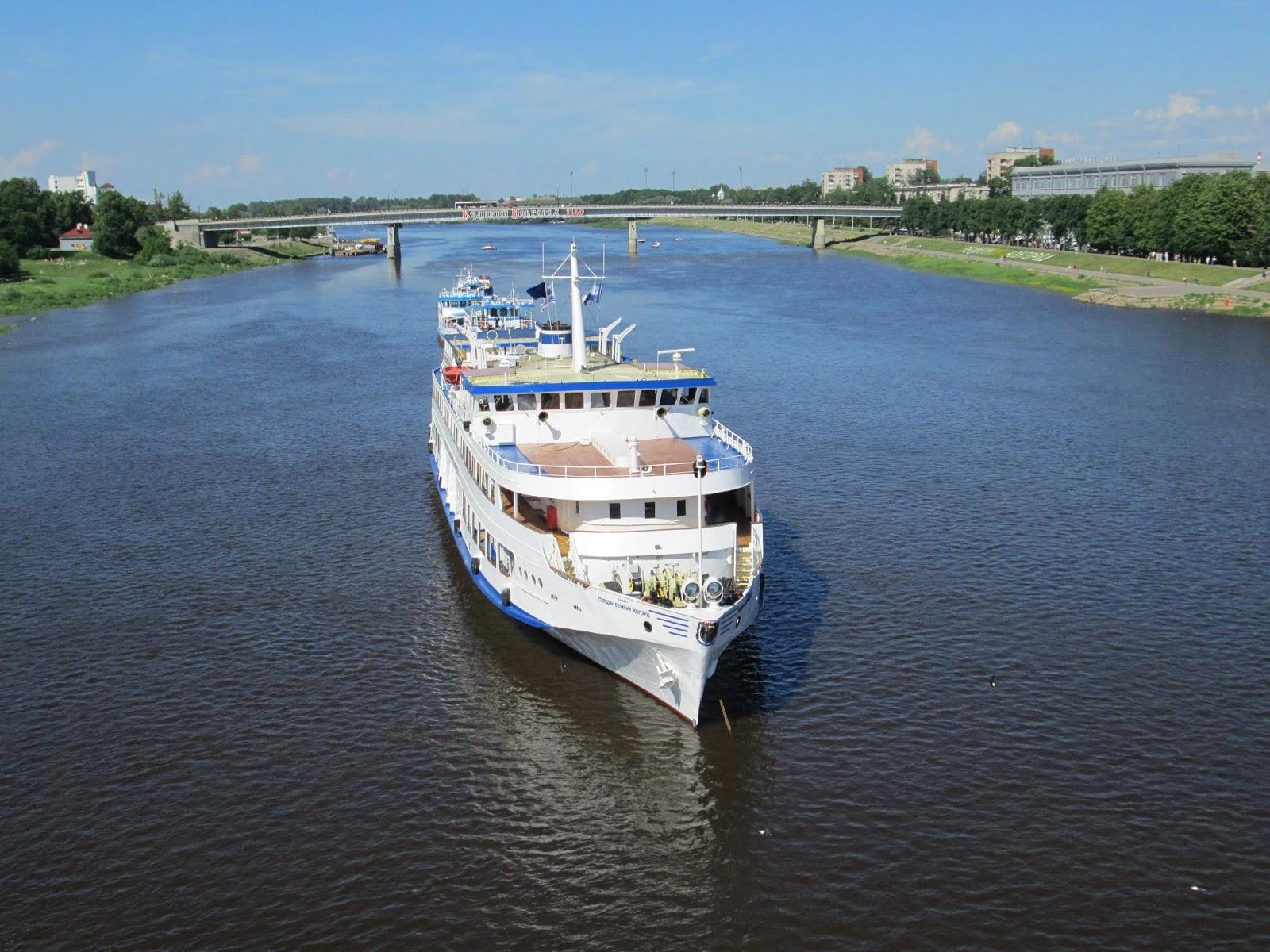 Господин Великий Новгород на реке Волхов