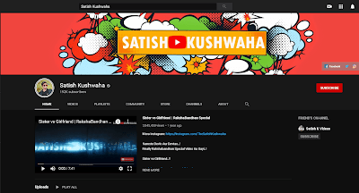 satish's youtube channel