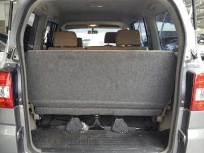 Interior Bagasi Mitsubishi Maven