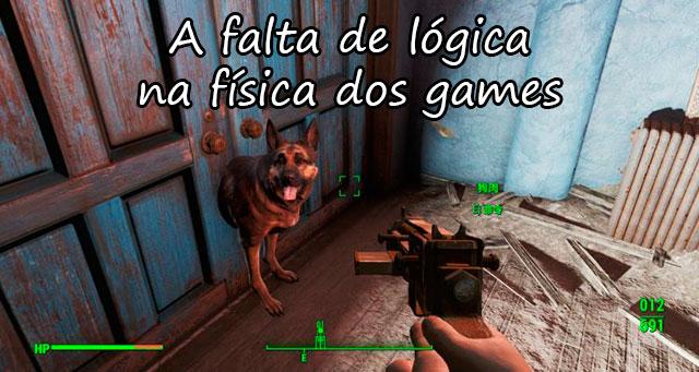 A FALTA DE LÓGICA NA FÍSICA DOS GAMES