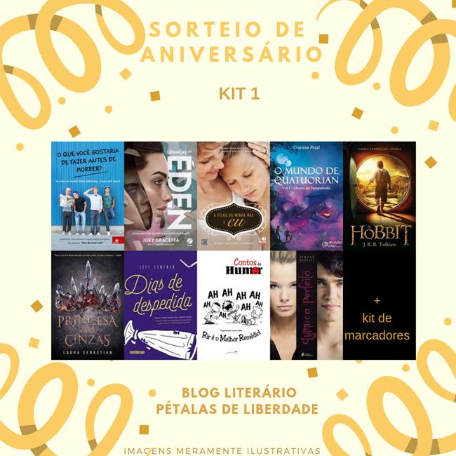 sorteio, aniversario, blog-literario, petalas-de-liberdade, livros