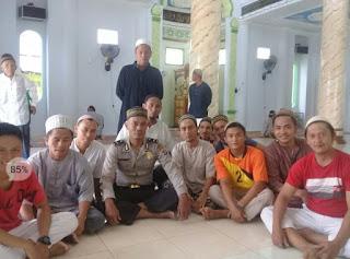 Program 'Jumat Keliling' Polres Minsel Merangkul Jamaah Masjid