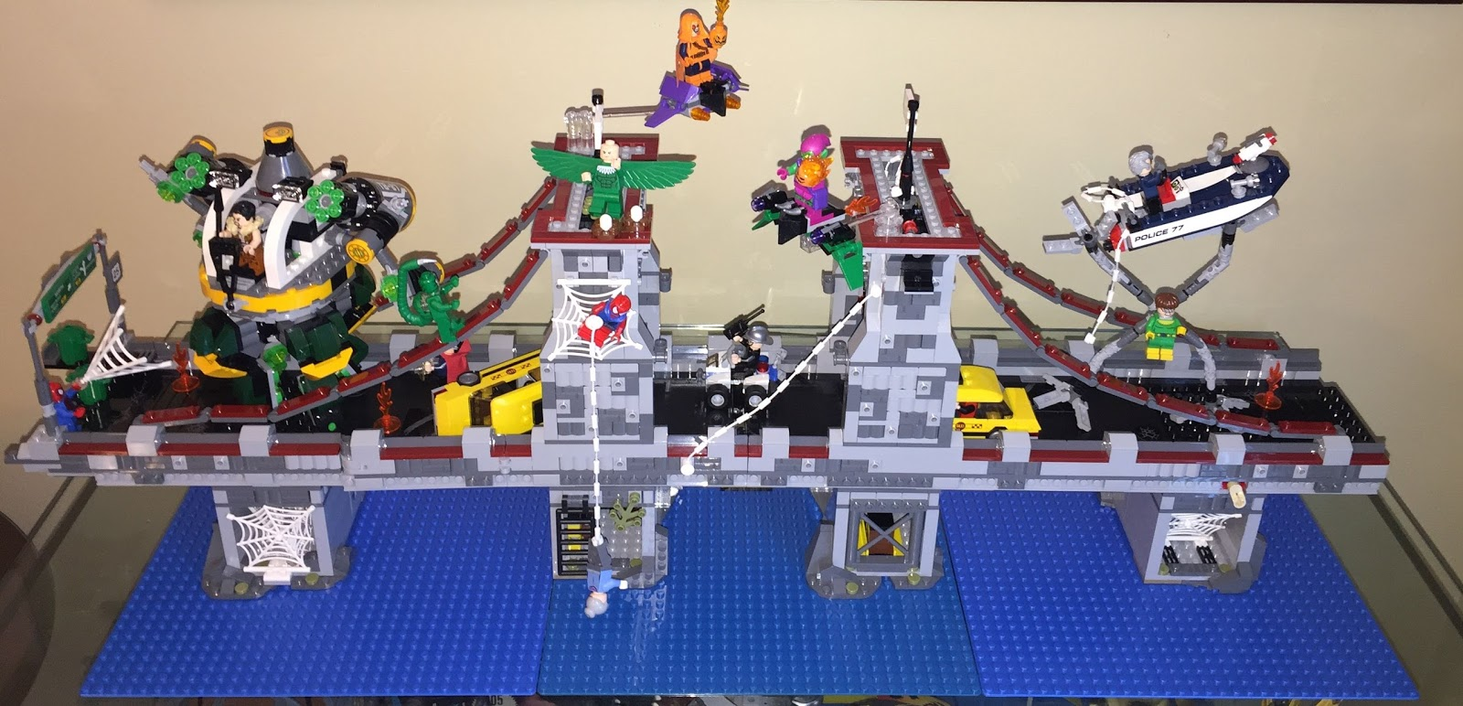the sphinx: Lego #76057 Expansion Project (Web Warriors ...