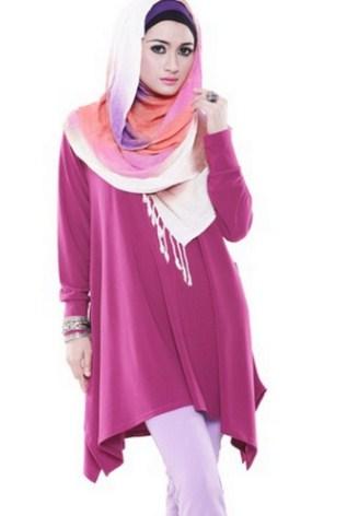 model baju atasan muslim wanita muslimah terbaru 26 34 model baju atasan muslim wanita muslimah 2017, cantik modis,Model Baju Wanita 34