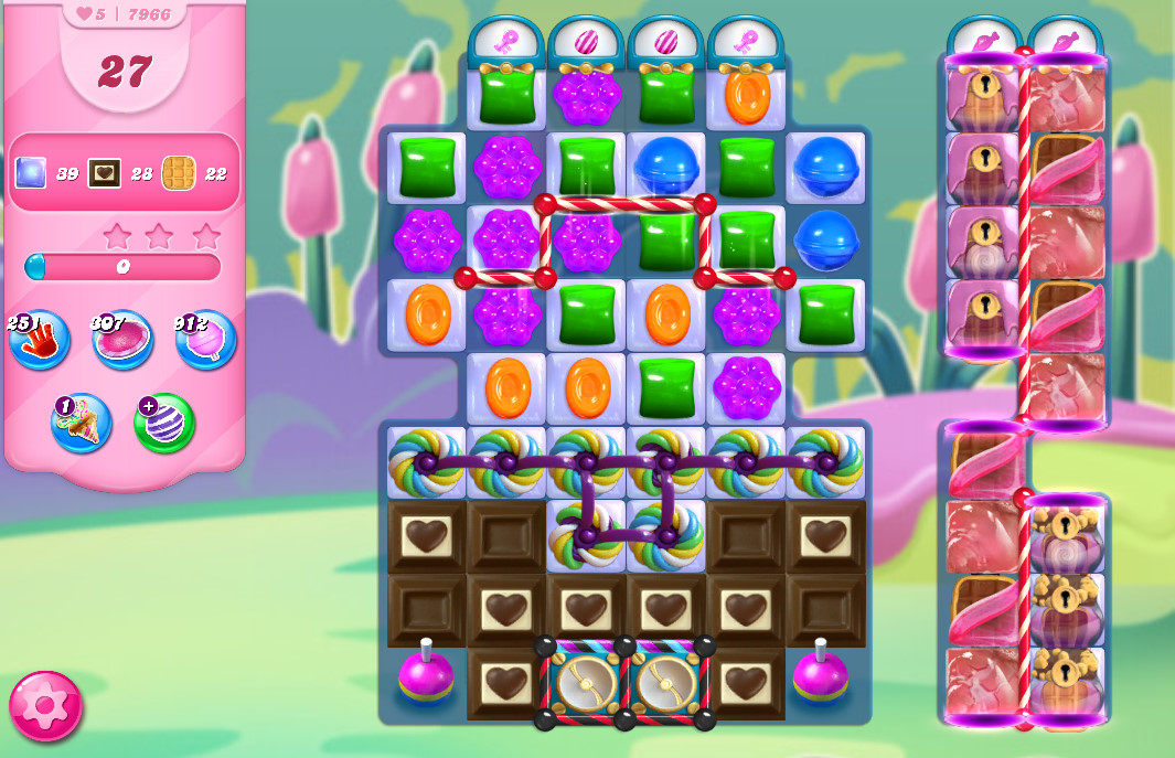 Candy Crush Saga level 7966